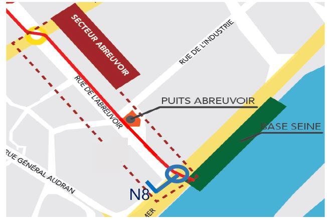 Travaux de nuit à Courbevoie du 26au27 juillet 2018
