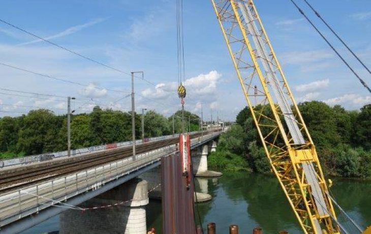Prolongement de la plage horaire des travaux au niveau du pont des anglais à Nanterre – juillet et août 2018