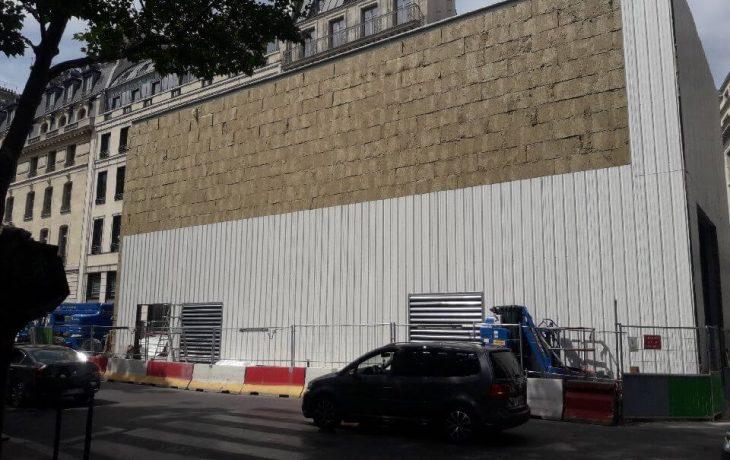 Hangar acoustique – fin des travaux de bardage la semaine du 25 juin
