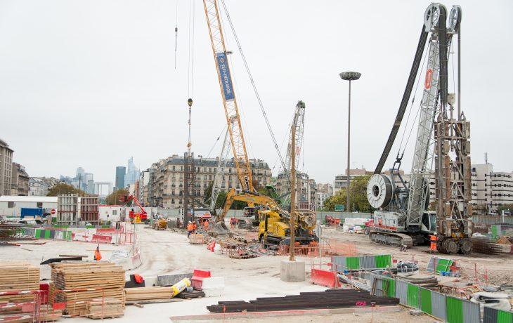 Dès ce week-end, les travaux de la gare de Porte Maillot se prolongent le dimanche jusqu'à la fin de l'année