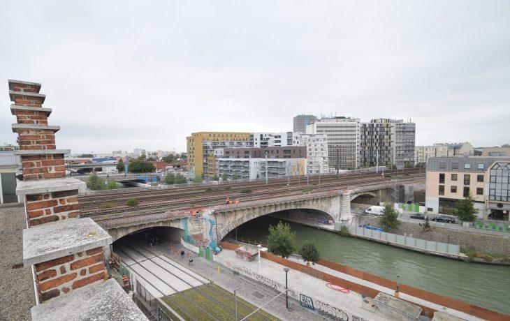 Fermeture d'une partie du quai de la Gironde aux piétons et cyclistes