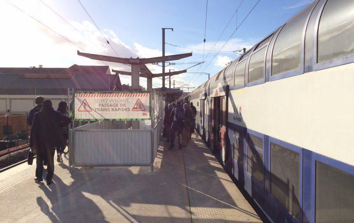 Gare de Poissy : 1er week-end de travaux sous interruption de circulation de l'année
