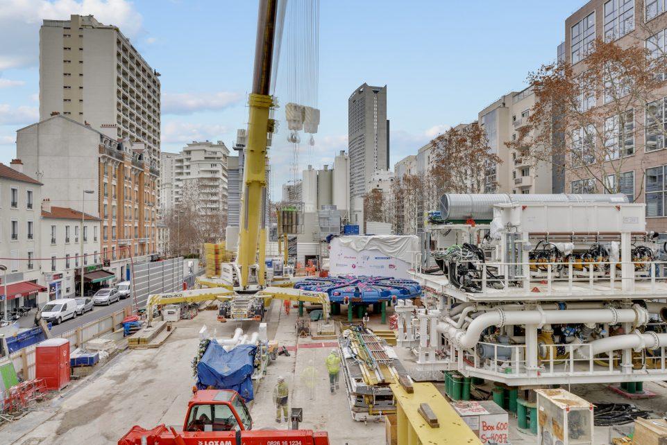 Vue globale du chantier