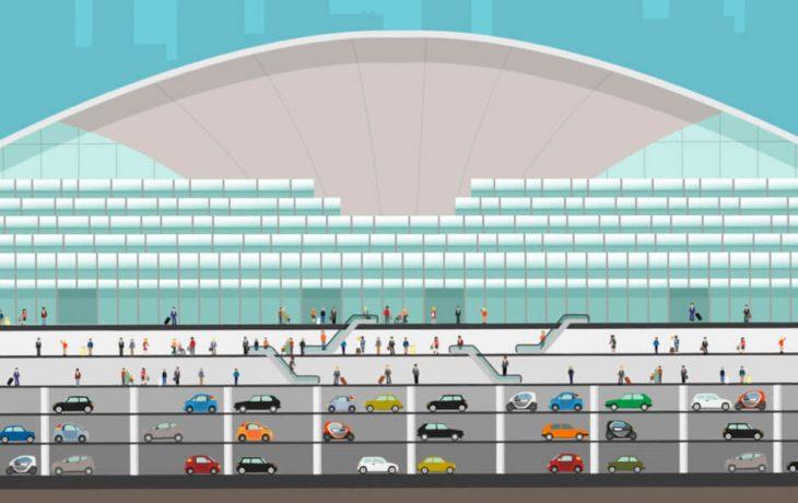 Les défis Eole – Construire une gare sous le CNIT sans interrompre les activités