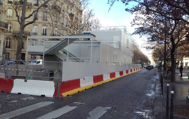 Puits Friedland : retour en image de l'installation des emprises chantiers