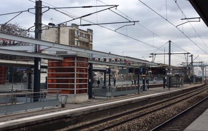 Travaux de week-ends en gare de Houilles-Carrières
