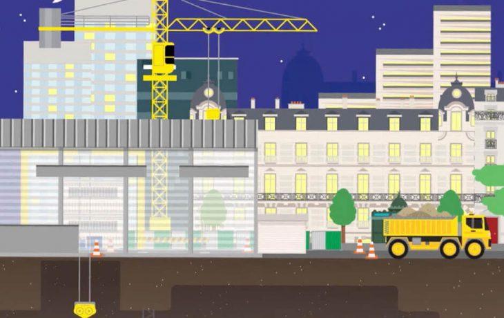 Les défis Eole : Comment travailler la nuit en pleine ville, sans faire de bruit?