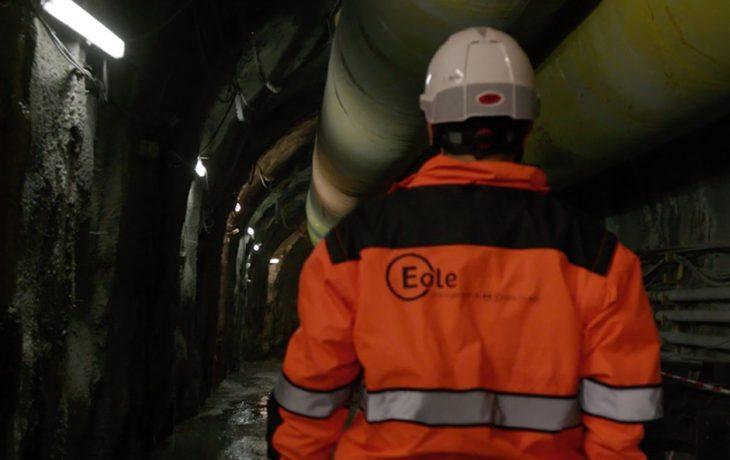 30 mètres sous Paris entre l'actuel terminus Haussmann Saint-Lazare et le futur tunnel