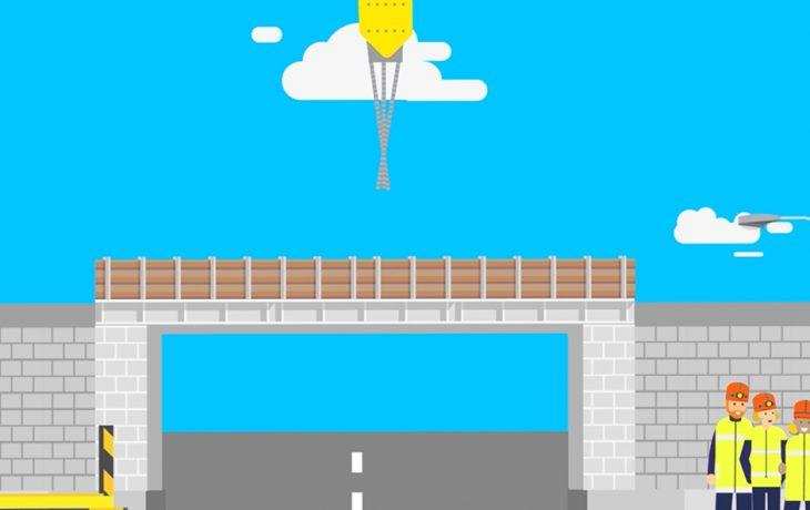 Les défis Eole : installer un pont rail en ville en moins de deux jours