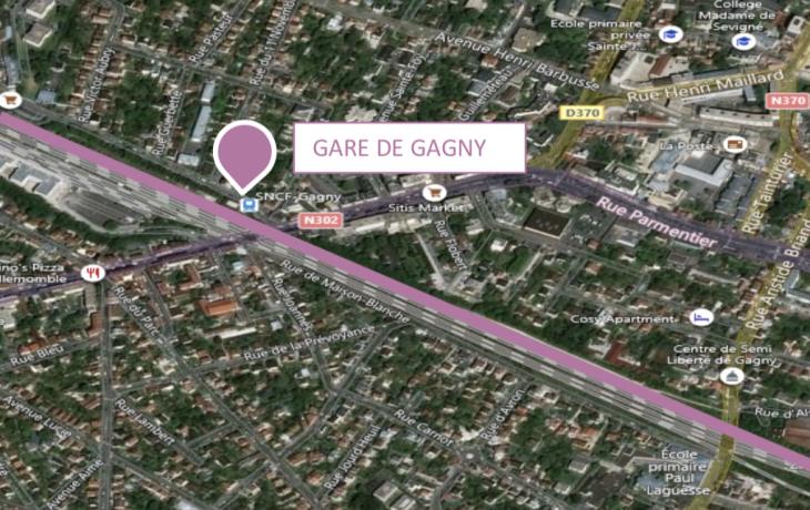 Création d'une voie de test NExTEO à Gagny