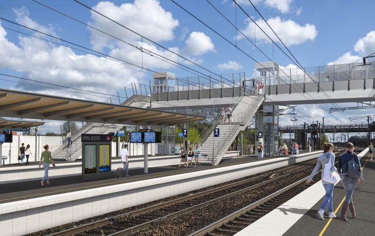 Premier week-end travaux en gare d'Epône-Mézières : du 31 octobre au 3 novembre