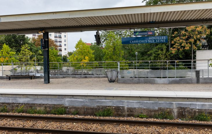 Gare de Houilles : travaux le week-end du samedi 9 au lundi 11 novembre