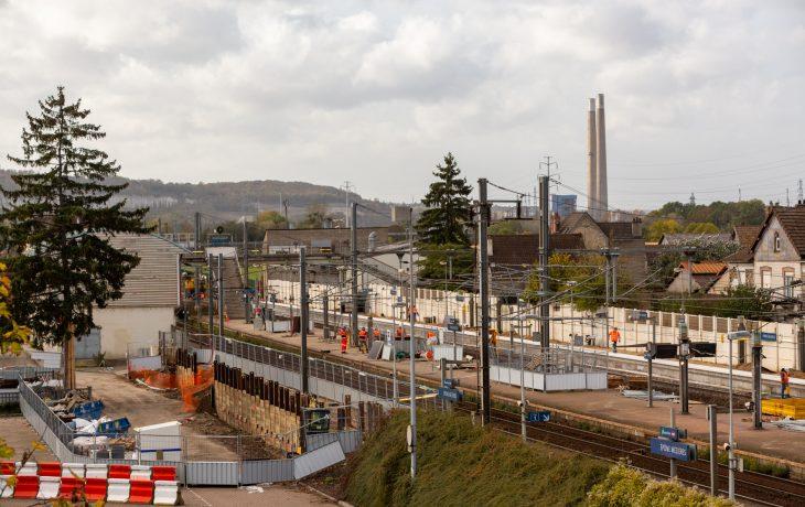 Epône-Mézières : les travaux continuent sur les quais : ce week-end