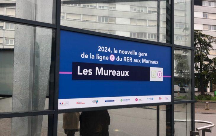 Gare des Mureaux : les travaux de génie débutent le 6 janvier 2020