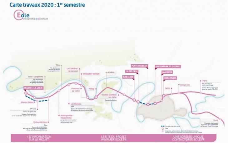 La carte du 1<sup>er</sup> semestre 2020