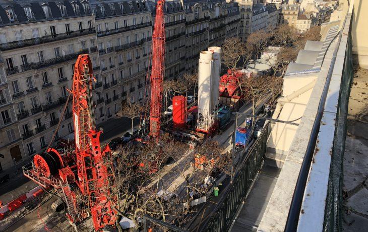 Venez visiter le chantier du puits Carnot dans le 17e arrondissement à Paris