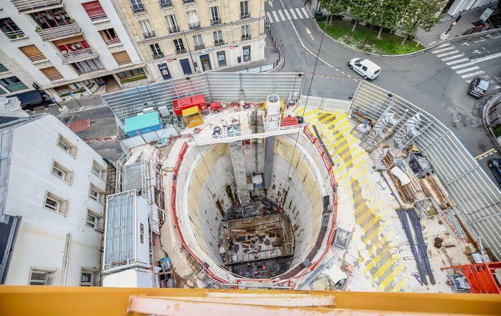 Reprise progressive d'activités du chantier Gouraud à Neuilly-sur-Seine