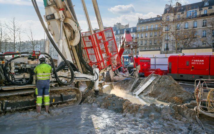 Reprise progressive d'activités du chantier Marché à Neuilly-sur-Seine
