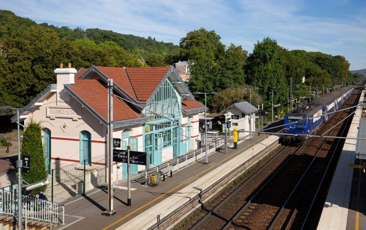 Gare et quais rénovés