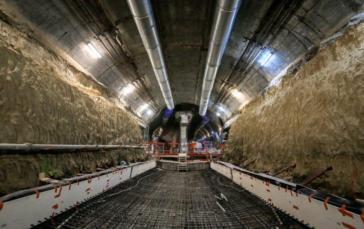 Tunnel à La Défense : Génie Civil dans le monotube