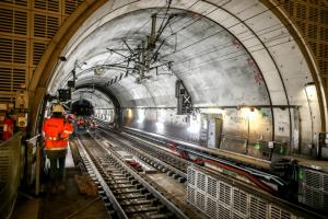Tunnel Haussmann Saint-Lazare