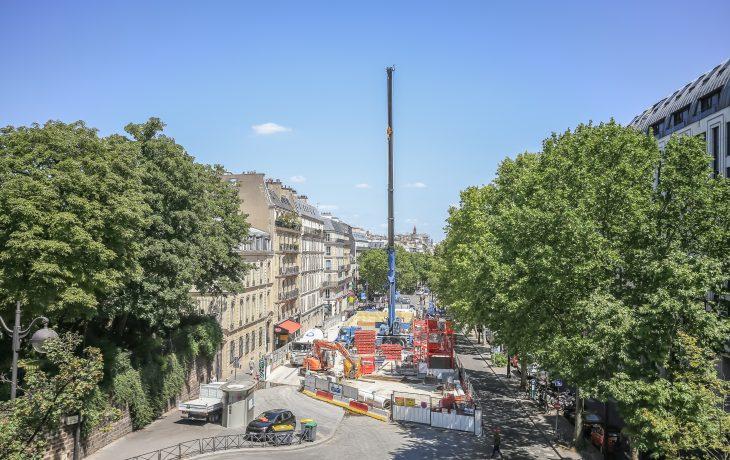 Les travaux Eole dans ma ville de Paris