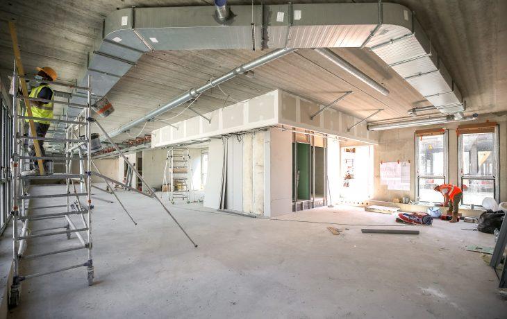 Bâtiment du futur Centre de Commande de RER E