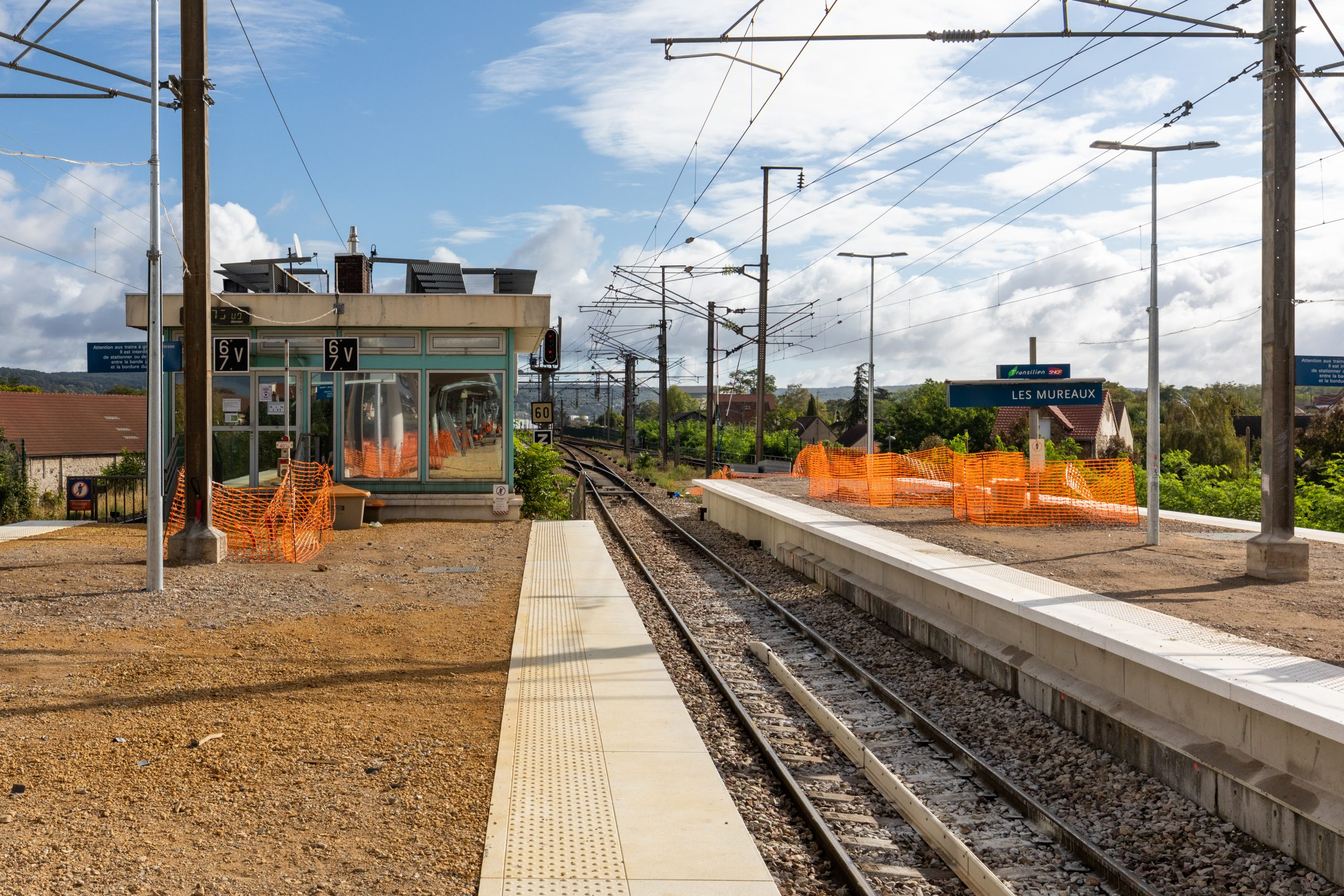 Travaux gare