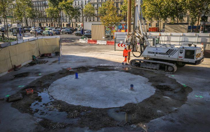 Prochaine phase travaux : le terrassement du Puits Marché
