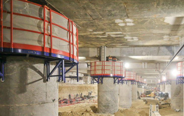 Actualités des travaux en gare de La Défense