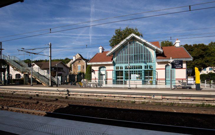 Les travaux Eole dans ma gare de Villennes-sur-Seine