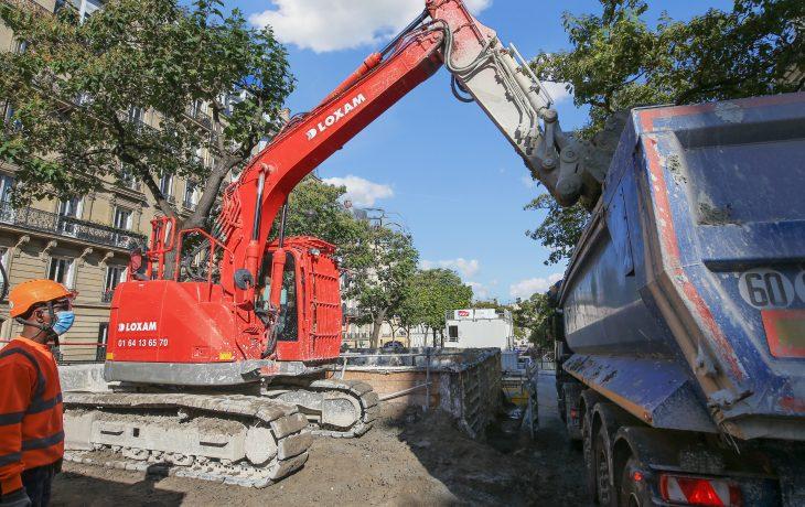 Maintien du chantier Carnot pendant la deuxième phase de confinement