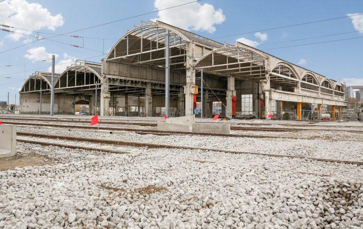 Halles ferroviaire de Nanterre