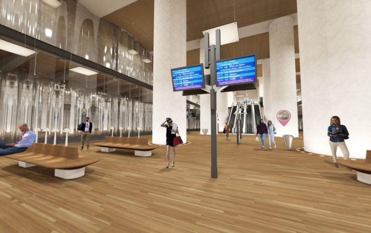 Visitez la gare de La Défense en ligne !