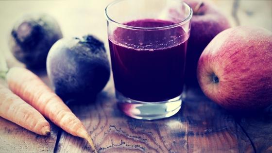 zumo de remolacha y zanahoria para adelgazar