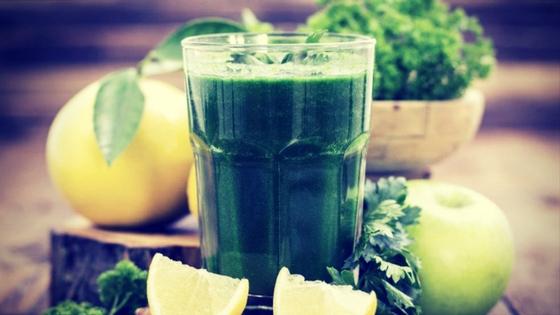 zumo verde detox perder peso y adelgazar