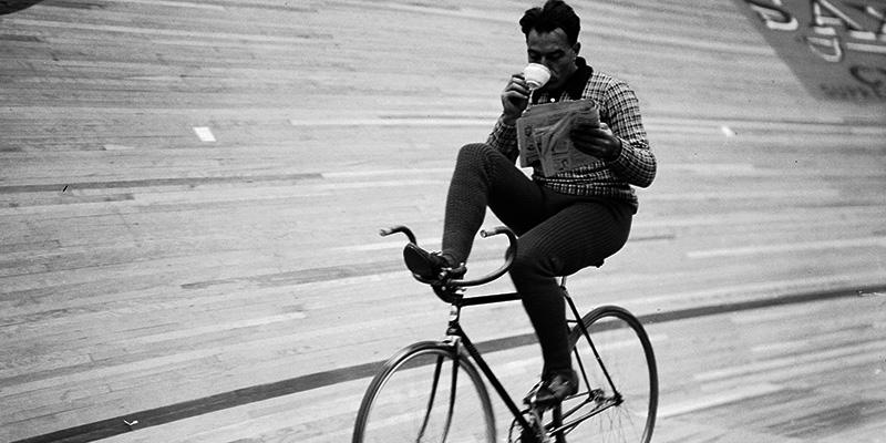 equilibrio en la bici