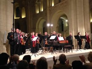 Akademie für Alta Musik Berlin (Akamus) à Lessay le 17 juillet 2015