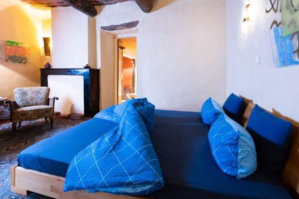 chambre bleue supérieure