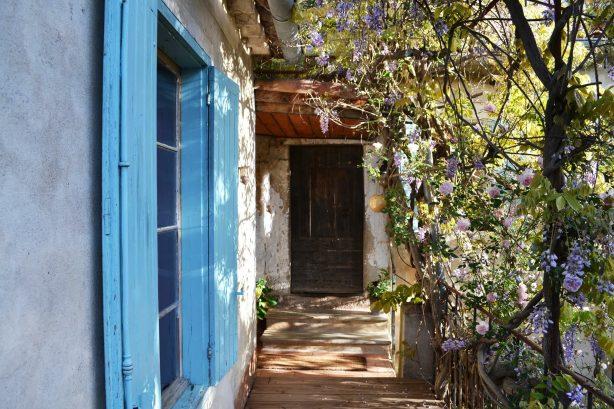La Vieille Maison - Halte Gourmande - l'ancien porte d'entrée