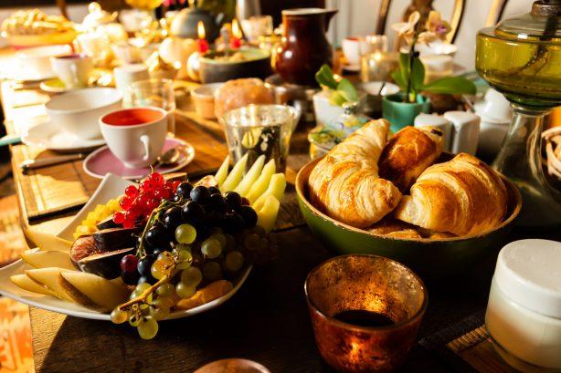 La Vieille Maison - Halte Gourmande - le petit déjeuner