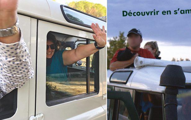 Excursion découverte de la Camargue ou des Cévennes avec Phil en 4X4 écotouristique hydrogène (8 hautes places et toit ouvrant)en