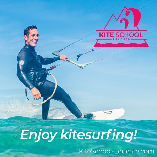 Kite School Leucate Enjoy kitesurfing