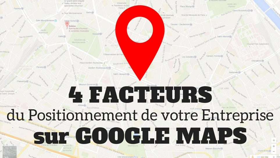 referencement google map