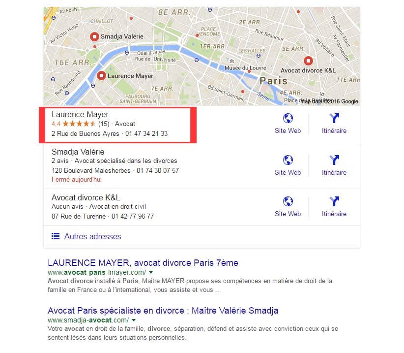 se référencer sur google map