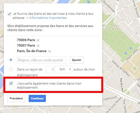 ajouter entreprise google maps