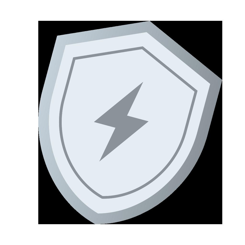 Badge Argent : CEF
