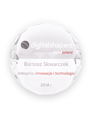 Digital Shapers 2018 Award