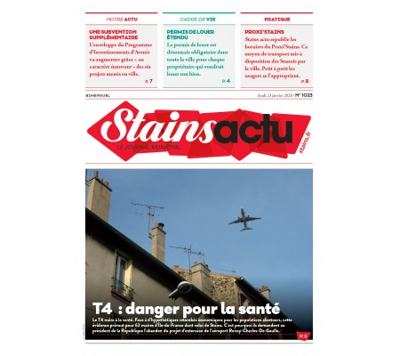 Stains Actu n1023 - Page 1