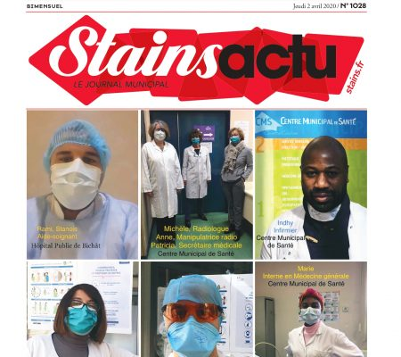 couverture Stains Actu N°1028